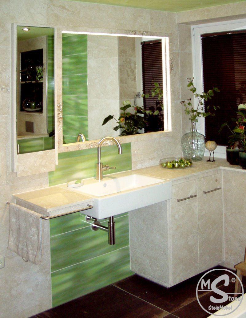 MStone Galerie Badmöbelel mit Waschtisch
