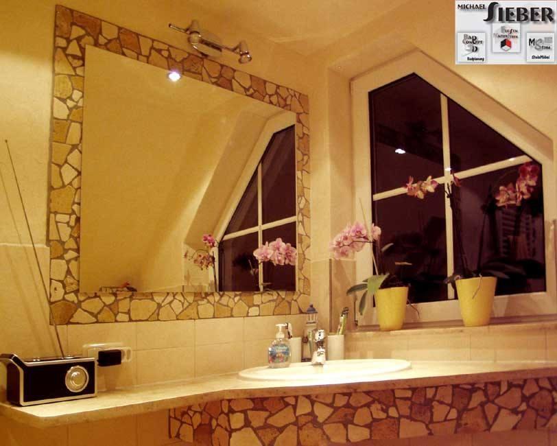 Spiegelgestaltung mit Mosaik