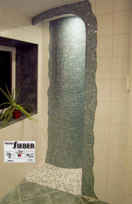 Eingang zu einer Dusche