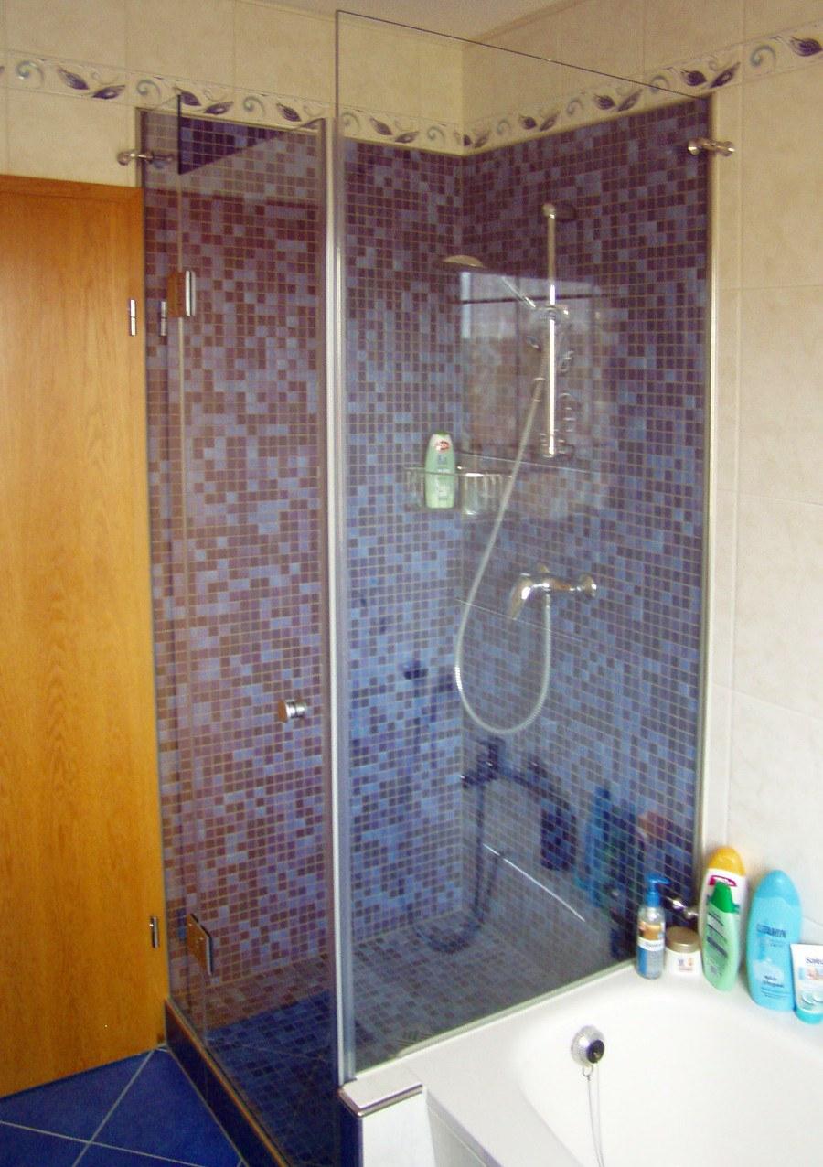 sanierter Duschbereich mit neuen Fugen