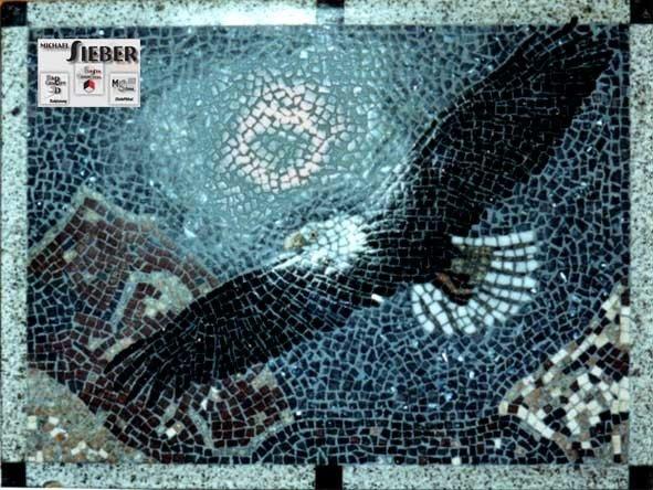 Mosaik Adler